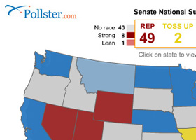 Pollster Flash Maps
