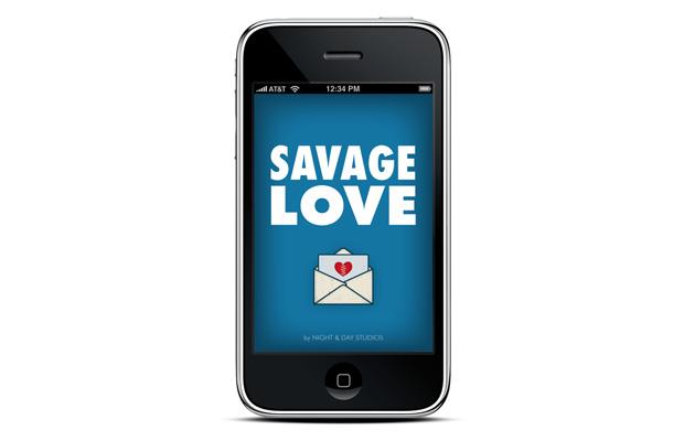 Savage Love App // michiko swiggs // interactive designer/developer